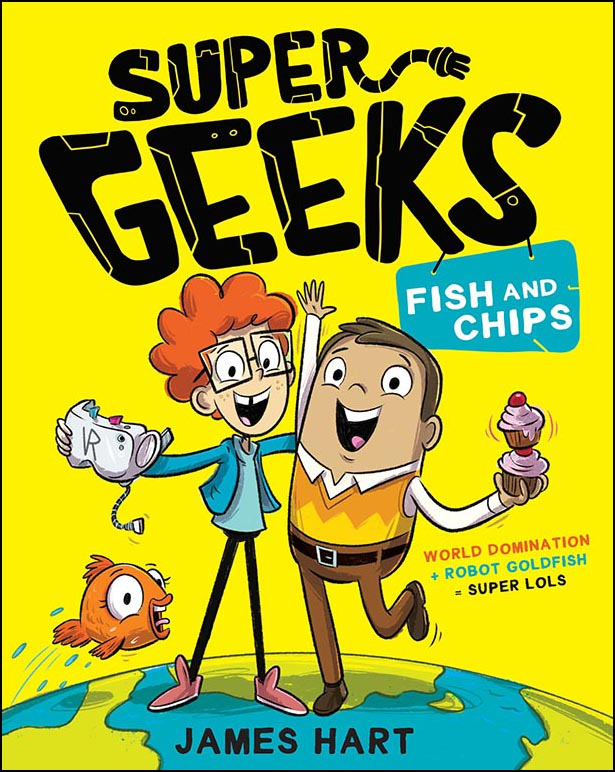 Super Geeks - Fish and Chips